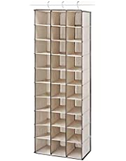Whitmor 6470-5132 Fashion Canvas Hanging Shoe Shelves