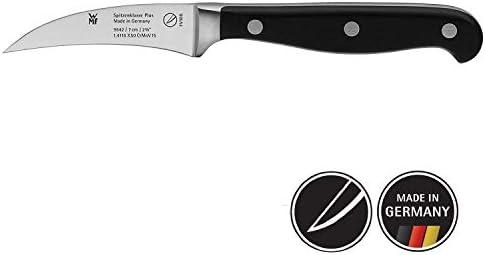 WMF Spitzenklasse Plus Cuchillo pelar, Acero Inoxidable, Negro, 7 cm