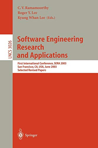 Systems Cisco Components (Software Engineering Research and Applications: First International Conference, SERA 2003, San Francisco, CA, USA, June 25-27, 2003, Selected Revised Papers (Lecture Notes in Computer Science))
