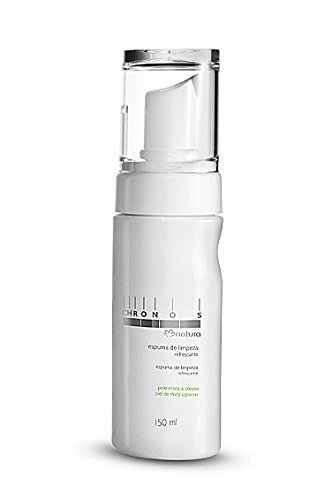 Linha Chronos Natura - Espuma de Limpeza Refrescante 150 Ml - (Natura Chronos Collection)
