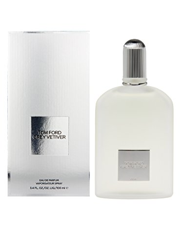 Tom Ford Grey Vetiver Eau De Parfume Spray for Men, 3.4 - Tom E Ford