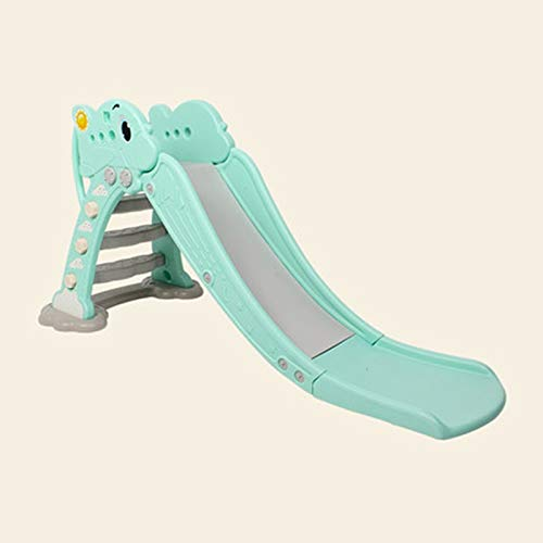 PNFP Baby Slides for Toddlers, Freestanding Multifunction Slide Indoor Play Structures Suitable for 1-6 Years Old Baby (Color : Green, Size : B) by PNFP