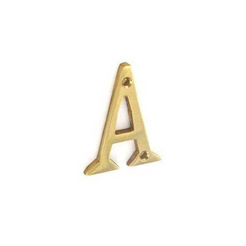 Securit Brass Letter A 50mm S2490