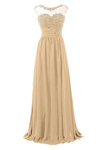 Champagne Drasawee Damen Empire Kleid Damen Drasawee Empire Kleid c070wvSq6O