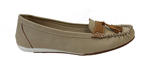 By Shoes -Mocasines para Mujer Beige
