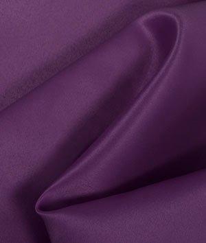 Plum Matte Satin (Peau de Soie) Fabric - by the (Peau Satin Dress)