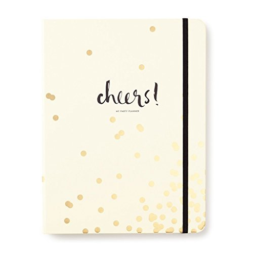 Kate Spade New York Gold Confetti Dot Party Planning / Planner (Party Planning Organizer)