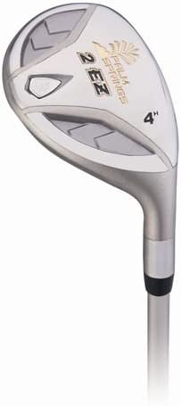 Palm Springs Golf 2ez Stainless Steel Ladies Recuse Wood Hybrid Iron