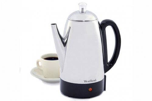West Bend Stainless-Steel 12-Cup Percolator
