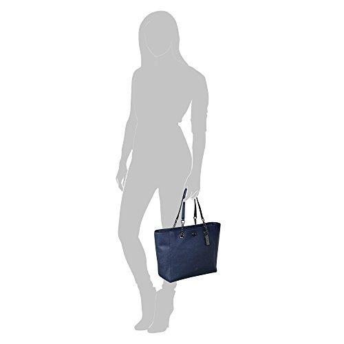 Coach Turnlock Ladies Large Pebbled Leather Tote Handbag 56830