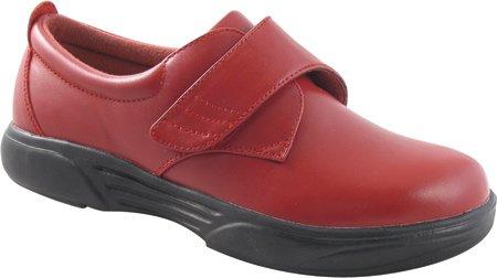 Monte Emey Mujeres 9209 Zapatos Ortopédicos Ruby Red
