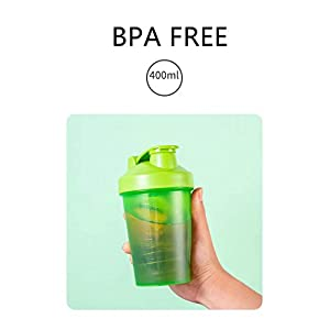 Make sure this fits by entering your model number. Each one of these shaker bottles for protein mixes comes with a stainless steel shaker ball, so there's no grit or lumps in your shake. Just like drinking a smoothie only your protein powder may help repair and rebuild your muscles. Designed with a wide mouth that makes it easy to fill and clean after use. The bottle's sturdy construction won't break even when dropped or stored. You can easily clean the bottle through hand washing with soapy water or place it in the dishwasher to save time