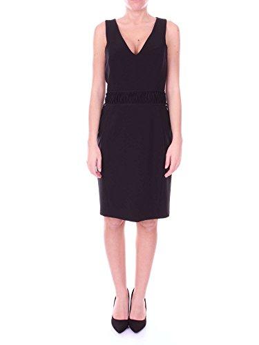 Schwarz Moschino Damen Kleid J04295524 Kurzes Couture n4FFXBwHq