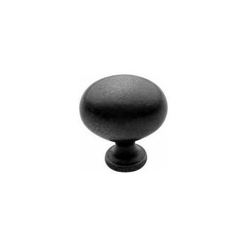 Baldwin 4913.102.BIN Decorative Oval Cabinet Knob, Oil Rubbed -