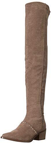 (Report Women's Zaria Over The Over The Knee Boot, Taupe, 9 M US)