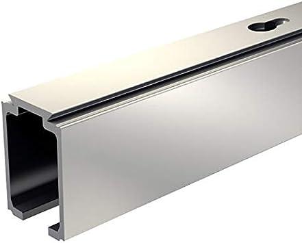 Carril de Aluminio 295 cm para – Herraje para Slid Up 1000, para puertas correderas, puertas de madera: Amazon.es: Bricolaje y herramientas