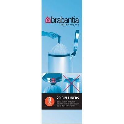 Brabantia 311741 rollo de bolsas de basura 5 l 20 bolsas por ...