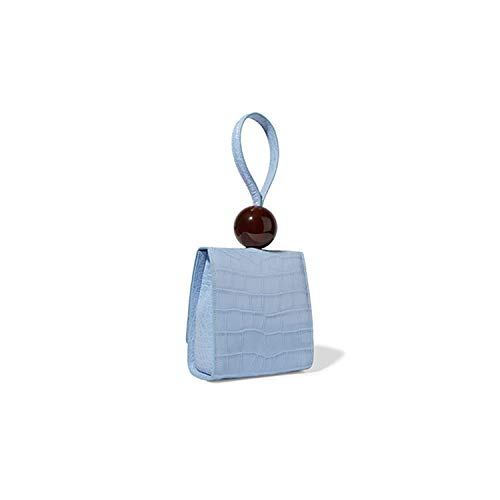 Retro Alligator Women Handbags Acrylic Beading Purse Bags Pu Leather Flap Bags Lady Chic Handbags Clutch