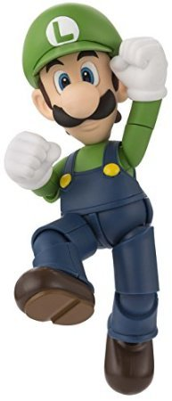 Bandai Tamashii Nations S.H. Figuarts Luigi 'Super Mario' Action Figure