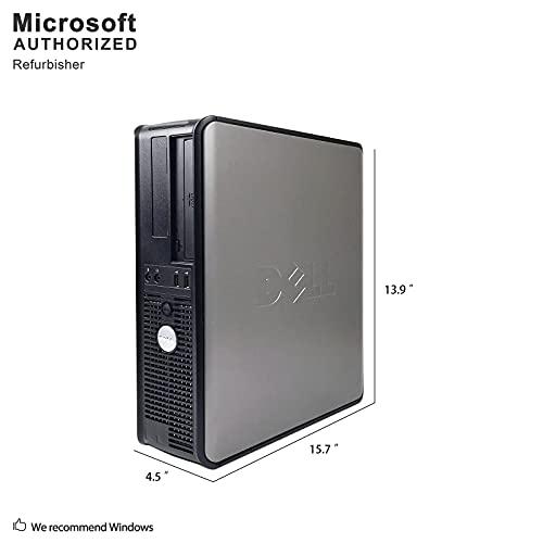DELL OptiPlex, Intel Core 2 Duo 2.9GHz Processor, 4GB Memory, 160GB Hard Drive, DVD, Windows 10, WiFi (Renewed)']