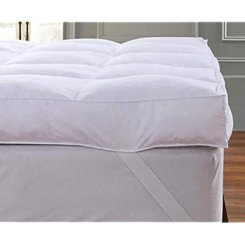 Amazon Com Queen Rose Mattress Topper Pillow Top Plush