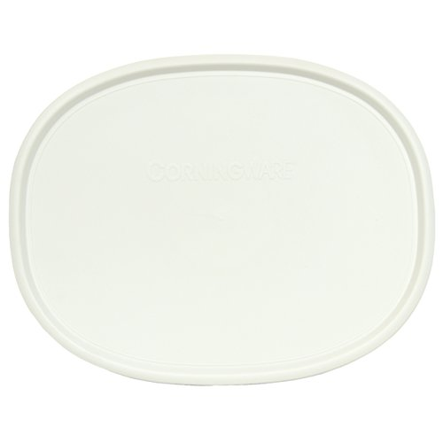 french white corning ware lids - 7