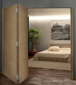 Saheco sf-a84d plegable de 4 puertas correderas Kit sin guía de suelo, 3 m, bisagras de 9: Amazon.es: Bricolaje y herramientas
