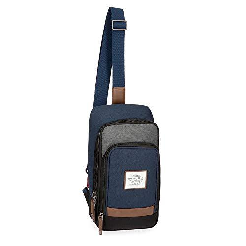 6245963 Green 35 Messenger Blue Jeans Roy Pepe Bag Green cm x84HZFqwn