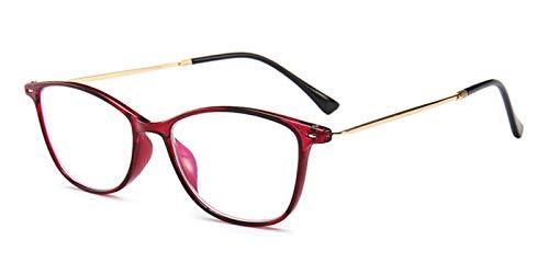 087ecaa281 Amazon.com  TIJN TR90 Blue Light Blocking Reading Glasses Unisex Reading  Eyeglasses  Clothing