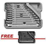 KD Tools 85988C 12 pc. XL Metric GearBox Double Box Ratcheting Wrench Set with a FREE 9 pc. XL SAE GearBox Set