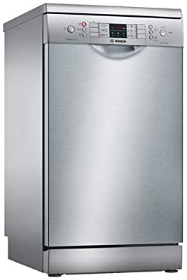 Bosch Serie 4 SPS46II07E lavavajilla Independiente 9 cubiertos A++ - Lavavajillas (Independiente, Estrecho (45 cm), Plata, Acero inoxidable, Botones, ...