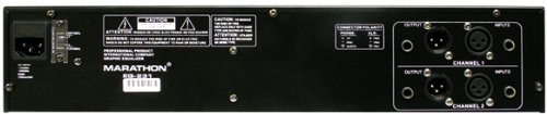 Marathon Eq-231 Stereo Dual 31 Band Graphic Equalizer