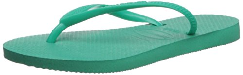 Havaianas Kid's Slim Sandal, Mint Green/Mint Green 31/32 BR/Little Kid (2 M - Havaianas Shop