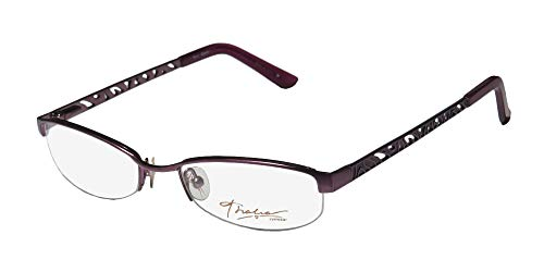Thalia Eldora For Ladies/Women Cat Eye Half-rim Flexible Hinges Popular Style Eyeglasses/Eyeglass Frame (51-18-135, Lavender) (Designer Cat-eye-brillen)