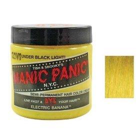 Manic Panic Semi-Permanent Color Cream, Electric Banana(4 fl oz)