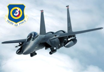 Home Comforts Laminated Poster F-15E Strike Eagle of The 48th Fighter Wing, RAF Lakenheath, Third Air Force Vivid Imagery Poster Print 24 x 36