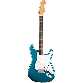amazon com fender eric johnson stratocaster maple fretboard 2 fender eric johnson stratocaster rosewood electric guitar lucerne aqua firemist rosewood fretboard