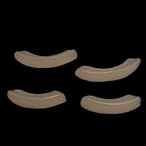 Joyas de primera clase de 24 quilates chapado en oro blanco Grillz + 2 barras de moldeado adicionales, estuche de almacenamiento + paño de microfibra