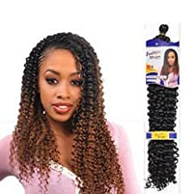 Freetress WATER WAVE Bulk, (Braid, Crochet or Pick and Drop) Braid 22 inche premium Hair Extension