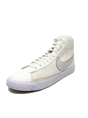 Nike Blazer Mid Se (GS) Summit White/Light Bone-White (5Y)