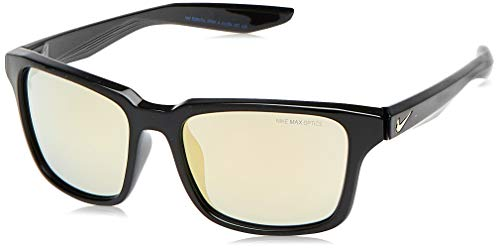 Nike EV1004-007 Spree M Frame Grey with Ml Gold Flash Lens Sunglasses
