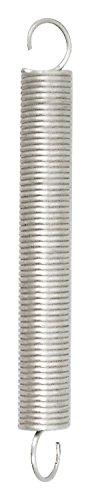 Chapuis rst1 resorte de tracció n acero galvanizado, Gris, 170 mm 170mm