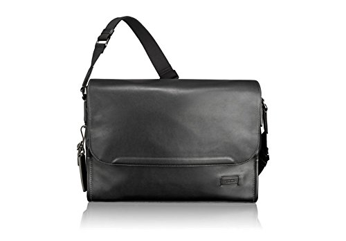 Tumi Men's Harrison Matthews Messenger, Black, One Size