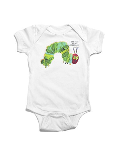 Out of Print The Very Hungry Caterpillar Bodysuit (Baby)-White-6 Months]()
