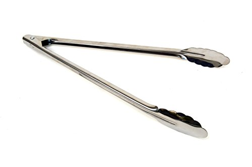 pack Stainless Commercial Spring Tongs product image
