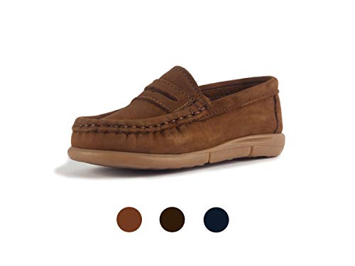 - Subibaja Lello - Penny Loafer Moccasin for Baby Boys | Toddlers LB8.5T