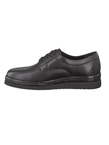 Mephisto - Zapatos de cordones de Piel para hombre negro