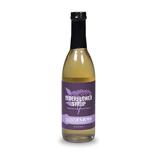 Norm's Farms Elderflower Syrup, 12 Ounce Bottle