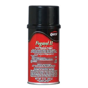 Quest Chemical 437 Fogasol II Total Release Fogger, 12oz,12/Cs. by Quest