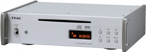 CD Player in Silver with High Resolution Audio by Teac